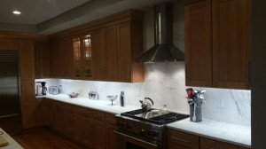 Marble Full backsplash